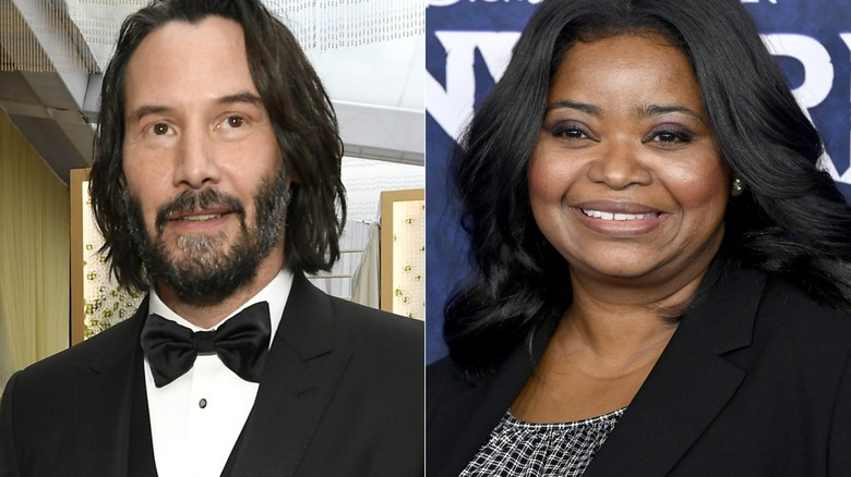 Octavia Spencer and Keanu Reeves