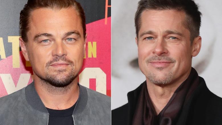 60db0a68 Once Upon a Time in Hollywood: First look at Leonardo DiCaprio, Brad Pitt  revealed. Leonardo DiCaprio, Brad Pitt