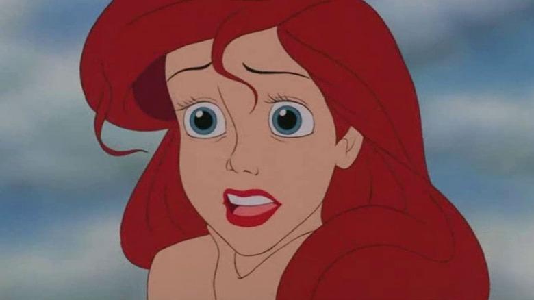 Ariel Little Mermaid Disney animated film