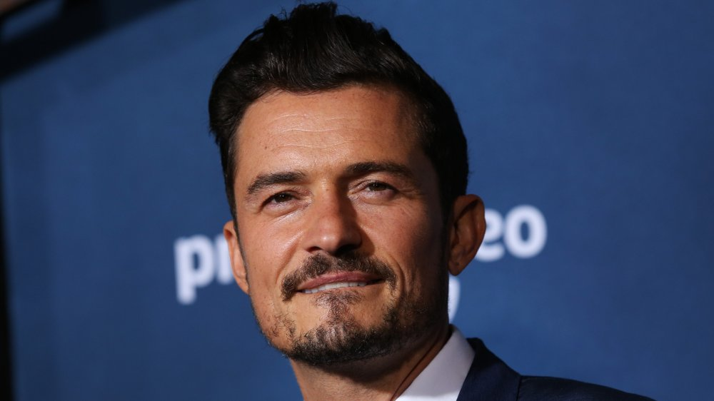 "Orlando Bloom attends the LA premiere of Amazon's ""Carnival Row"" at TCL Chinese Theatre"
