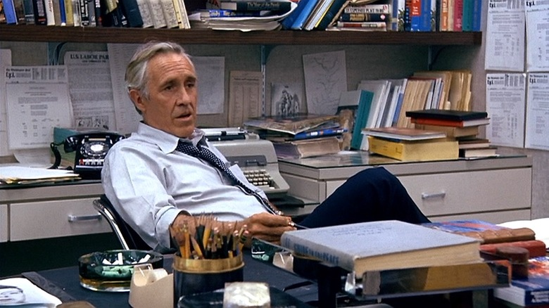Jason Robards in All the President's Men
