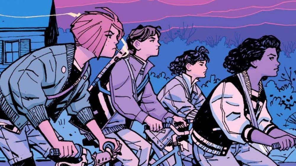 From Brian K. Vaughan's Paper Girls