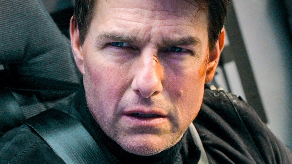 Ethan Hunt wounded