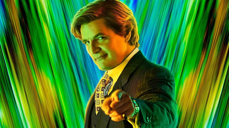 Pedro Pascal as Maxwell Lord in Wonder Woman 1984