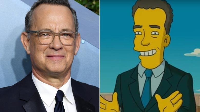 Tom Hanks as Tom Hanks in The Simpsons Movie