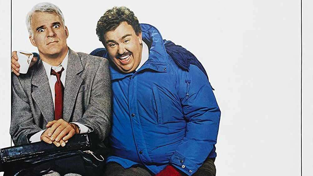 The poster for the original Planes, Trains and Automobiles