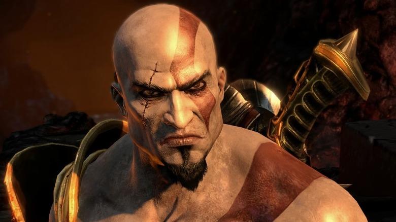 Screenshot from God of War III