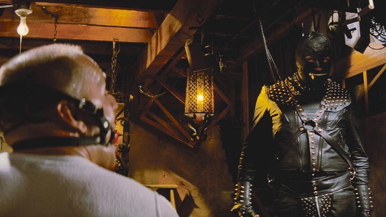 Bruce Willis and Steven Hibbert in Quentin Tarantino's Pulp Fiction
