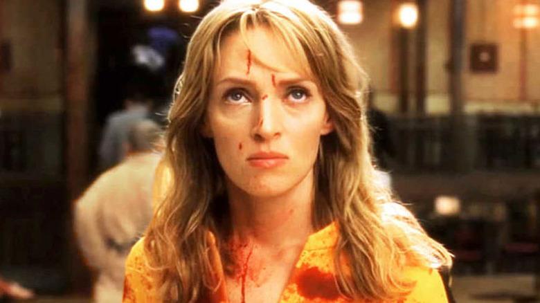 Uma Thurman as Beatrix Kiddo/The Bride in Kill Bill