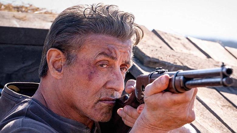 Scene from Rambo: Last Blood