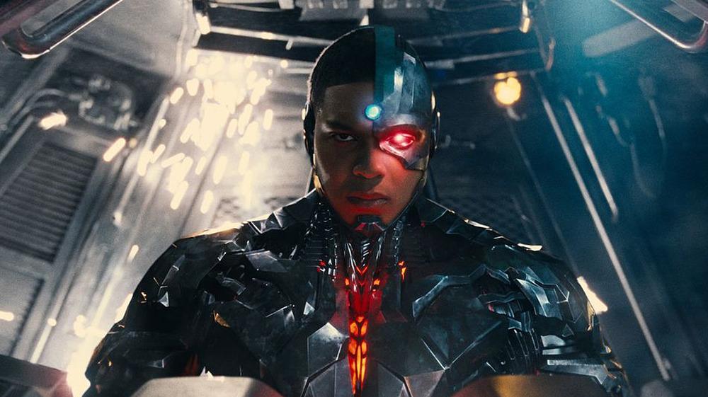 Cyborg in a cockpit