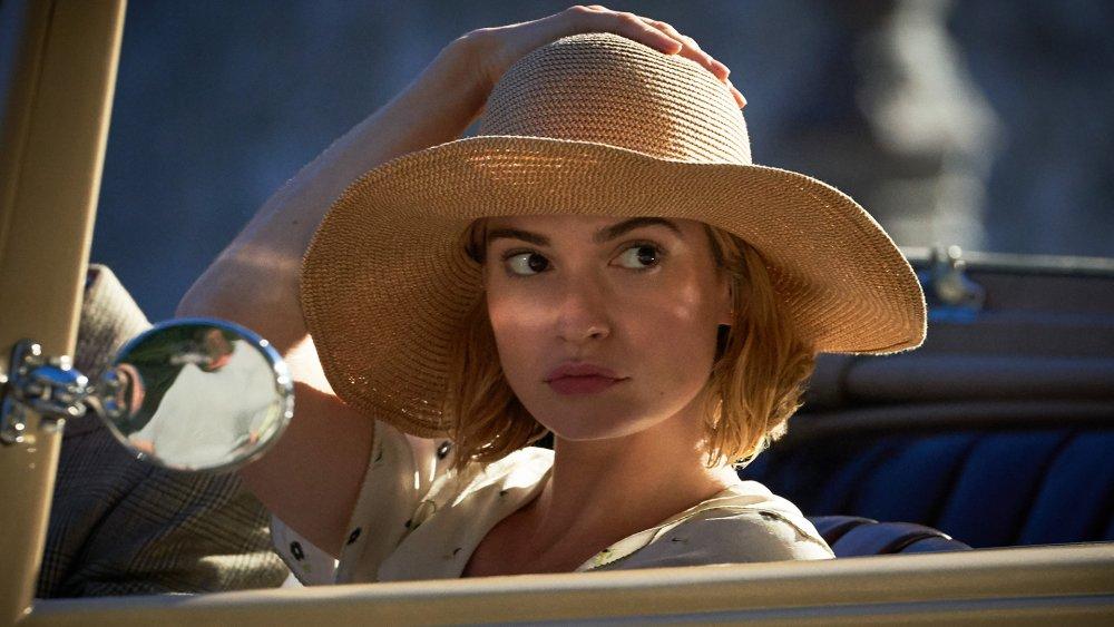 Lily James as Mrs. de Winter in Rebecca