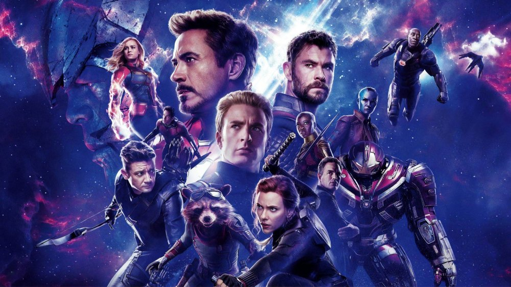 The superheroes that make up the Avengers from Avengers: Endgame