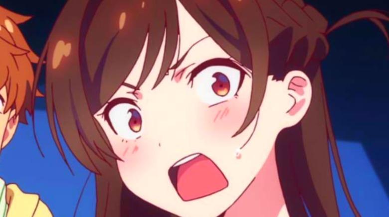 Chizuru looking shocked