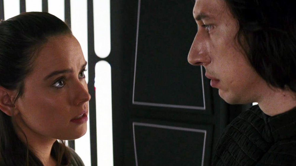 Rey and Kylo Ren Star Wars Force connection