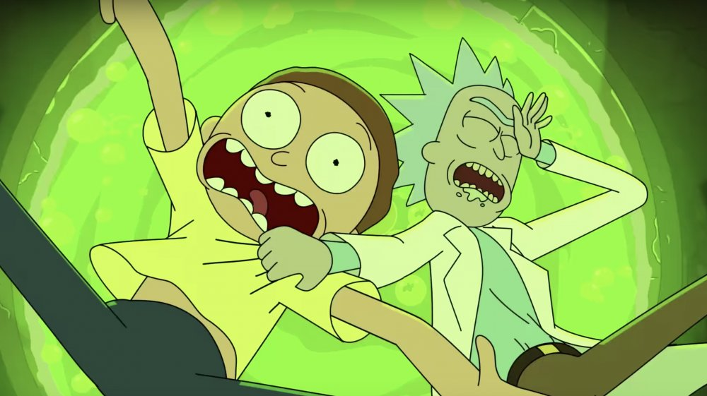 Rick and Morty season 4 part 2 announcement trailer