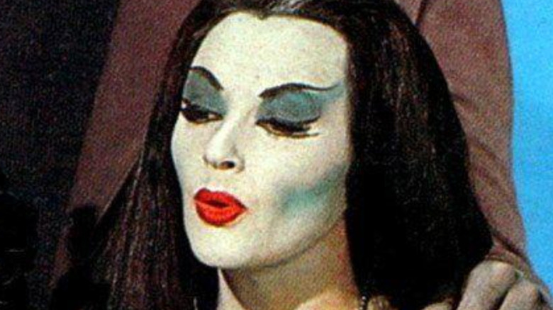 The Munsters Lily red lipstick