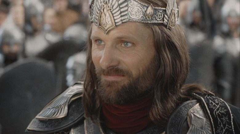 Viggo Mortensen in The Lord of the Rings: Return of the King