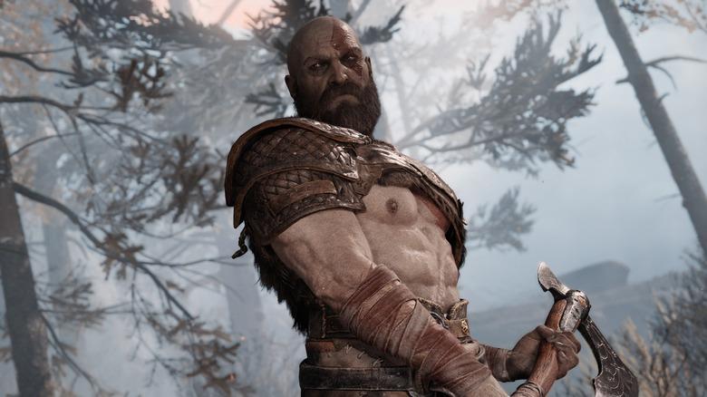 kratos in gow 4