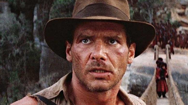 Indiana Jones on bridge