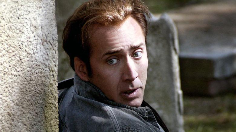 Nicolas Cage as Benjamin Franklin Gates in National Treasure