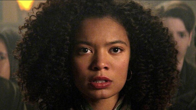 Jaz Sinclair on Chilling Adventures of Sabrina