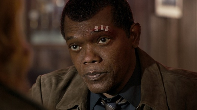 Samuel L. Jackson as Nick Fury in Captain Marvel