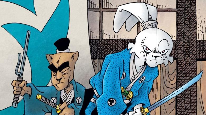 Usagi Yojimbo drawn by Stan Sakai