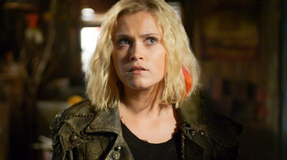Eliza Taylor as Clarke Griffin on The 100