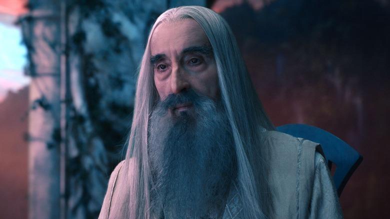 Christopher Lee, Saruman, The Hobbit