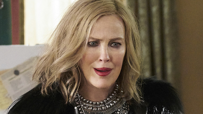 Catherine O'Hara as Moira Rose, from Schitt's Creek