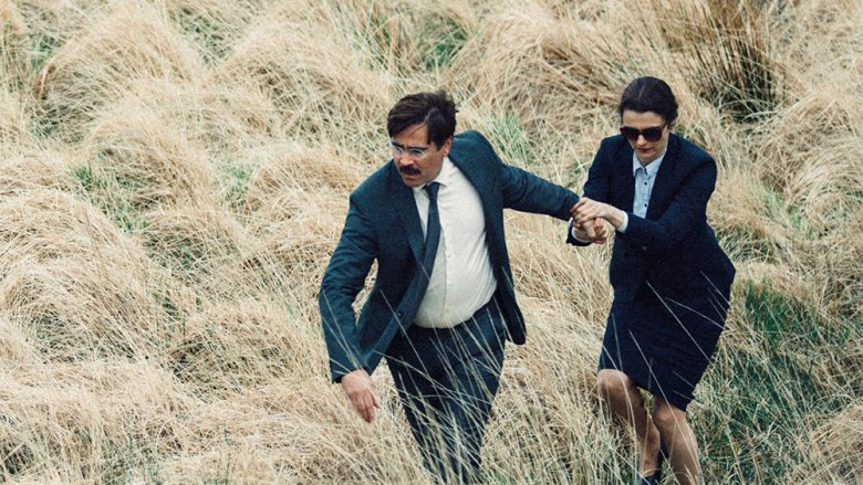 Colin Farrel and Rachel Weisz in The Lobster