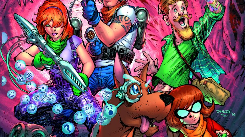 The Scooby gang from DC's Scooby Apocalypse comic