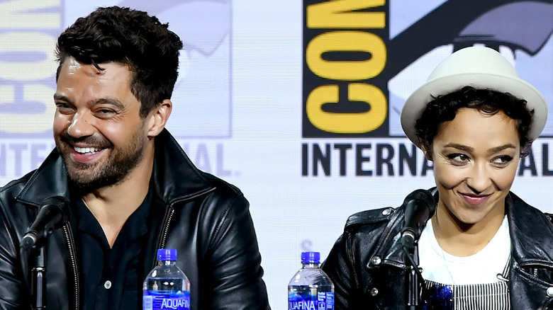 Dominic Cooper and Ruth Negga at San Diego Comic-Con 2019