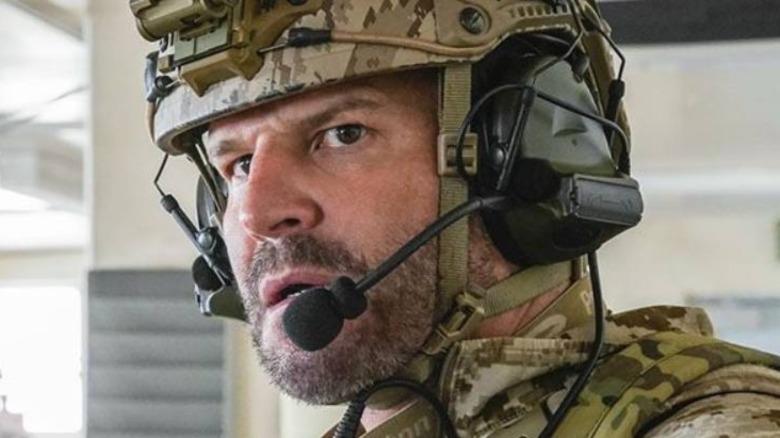 SEAL Team David Boreanaz in close-up