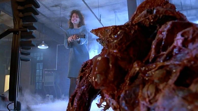 Geena Davis in The Fly