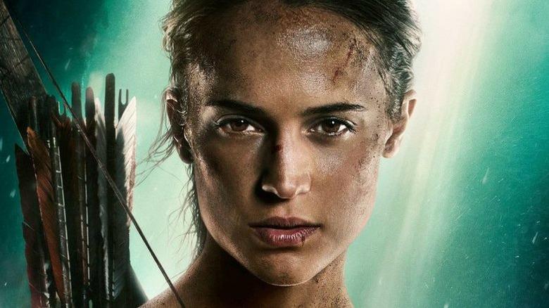 6102e1b9f See Alicia Vikander in action as Lara Croft in new Tomb Raider photos.  Warner Bros.