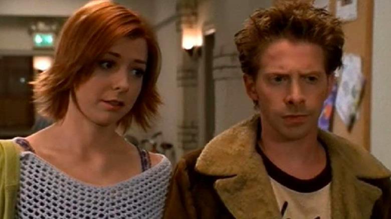 Seth Green and Alyson Hannigan on Buffy the Vampire Slayer