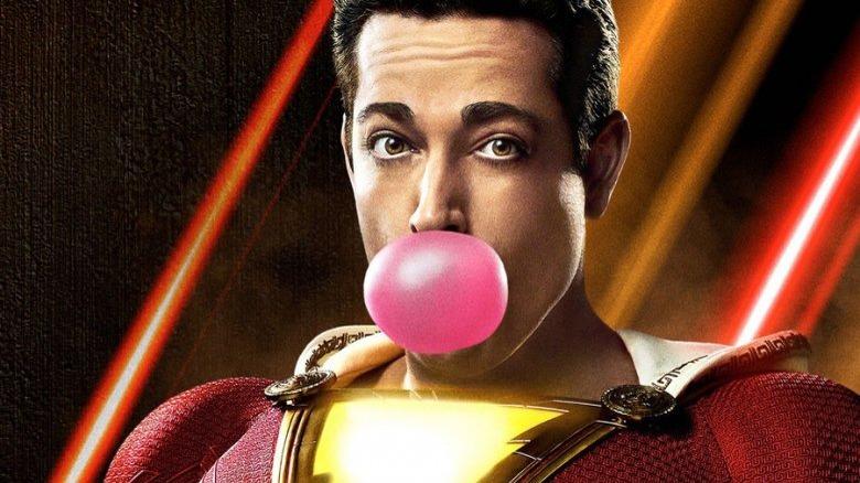 Shazam Zachary Levi bubblegum