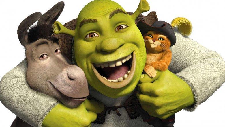 Shrek Donkey Puss in Boots