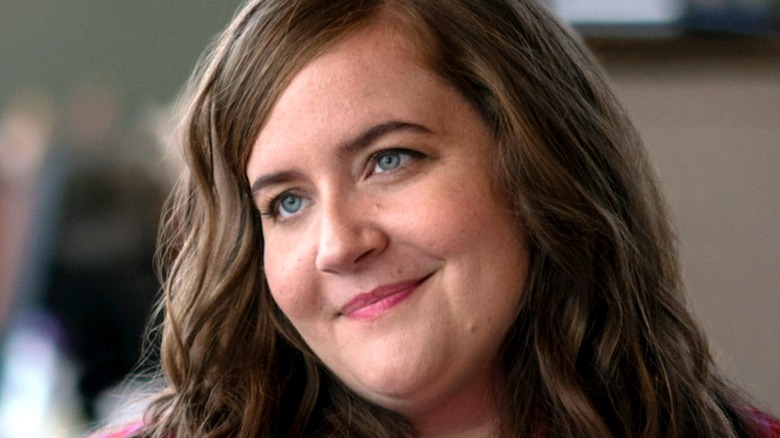 Aidy Bryant smiling in Shrill