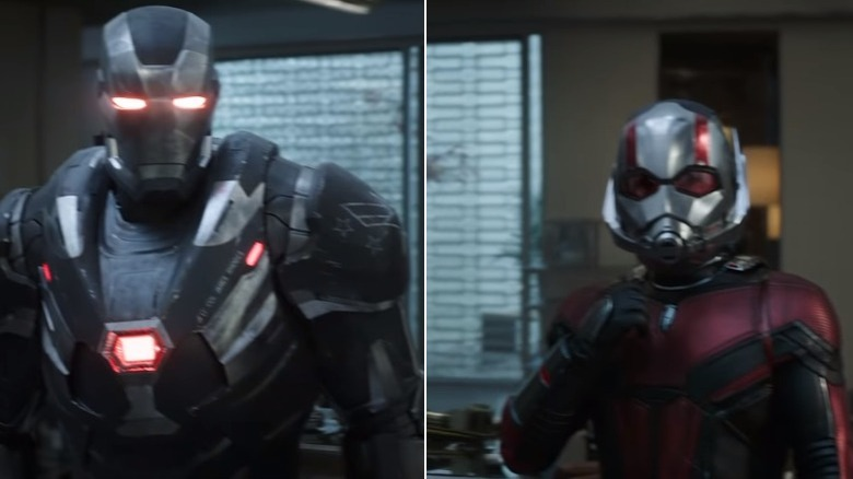 War Machine Ant-Man Avengers Endgame