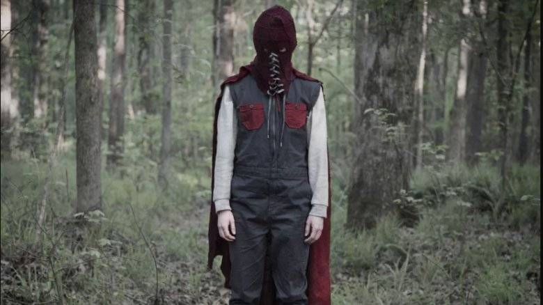 Brightburn in his full outfit