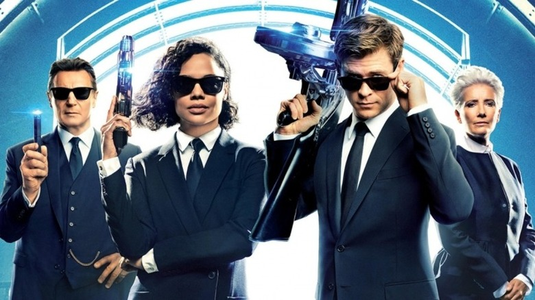 Promotional poster for Men in Black: International