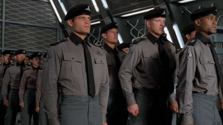 Starship Troopers soldiers