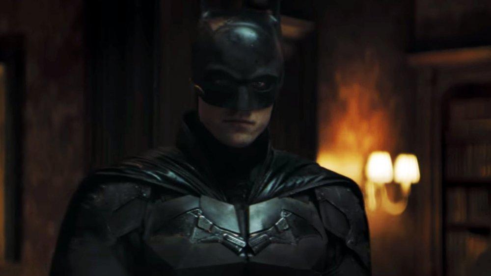 Robert Pattinson in the trailer for The Batman