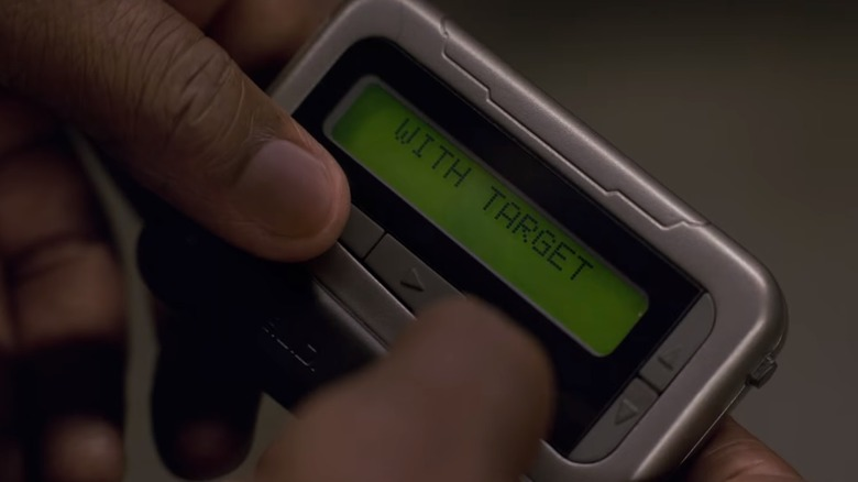 Nick Fury's pager in Captain Marvel