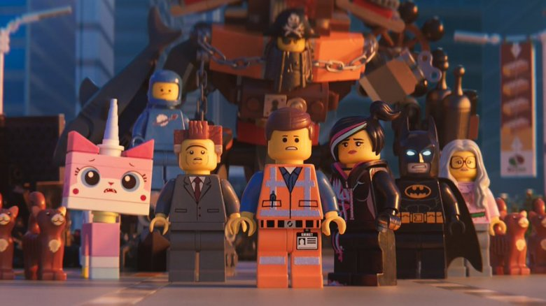 The main cast of The LEGO Movie 2