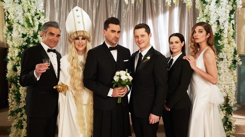 Schitt's Creek wedding and series finale