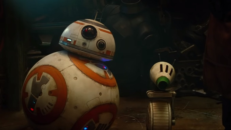 BB-8 and D-0 in Star Wars: The Rise of Skywalker